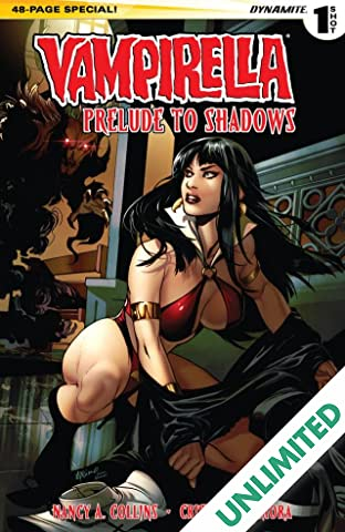 Vampirella (2014-2015): Prelude to Shadows: Digital Exclusive Edition